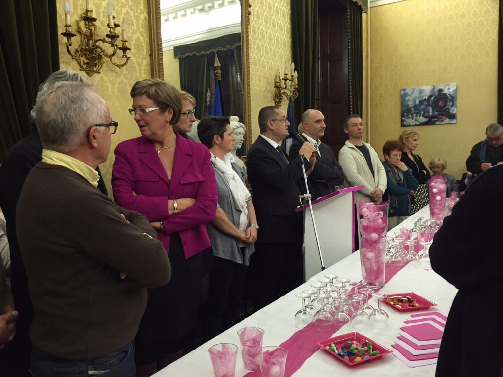 Soirée des vœux du maire à la Mairie de Thiviers